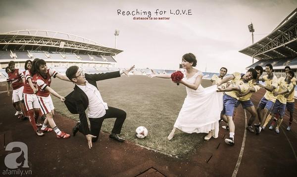 Chụp ảnh cưới theo idea